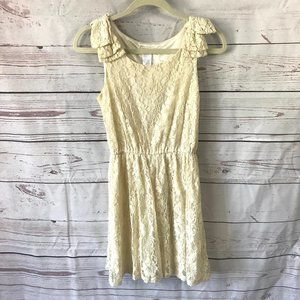 *3/$18*Moon Collection Sleeveless Lace Dress